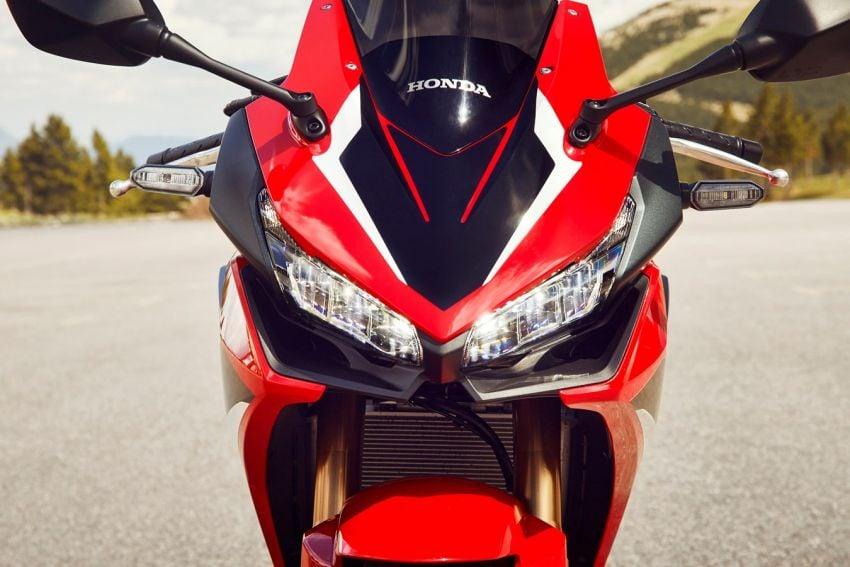 Honda CB500R, CB500F dan CB500X diperbaharui – enjin Euro 5, fork USD Showa, brek cakera berkembar Image #1340605