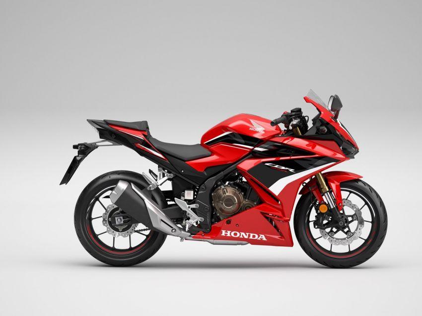 Honda CB500R, CB500F dan CB500X diperbaharui – enjin Euro 5, fork USD Showa, brek cakera berkembar Image #1340571