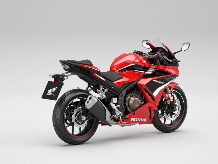 Honda CB500R, CB500F dan CB500X diperbaharui – enjin Euro 5, fork USD Showa, brek cakera berkembar Image #1340573