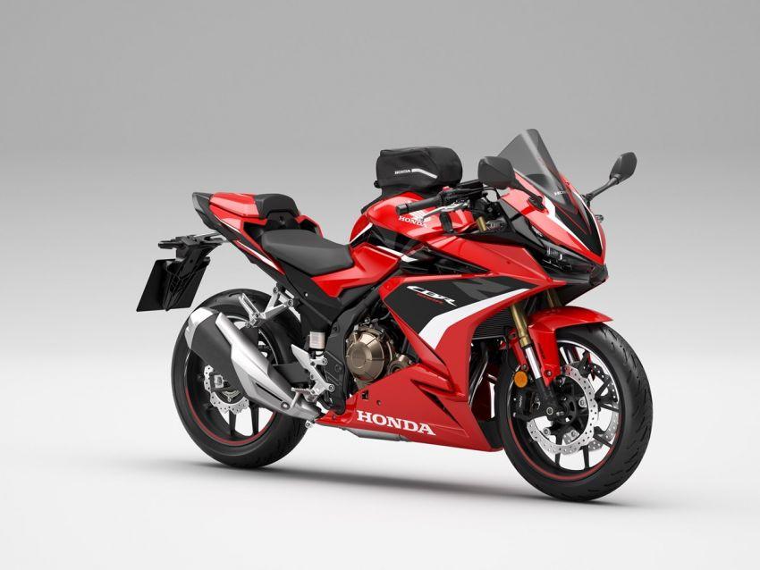 Honda CB500R, CB500F dan CB500X diperbaharui – enjin Euro 5, fork USD Showa, brek cakera berkembar Image #1340575