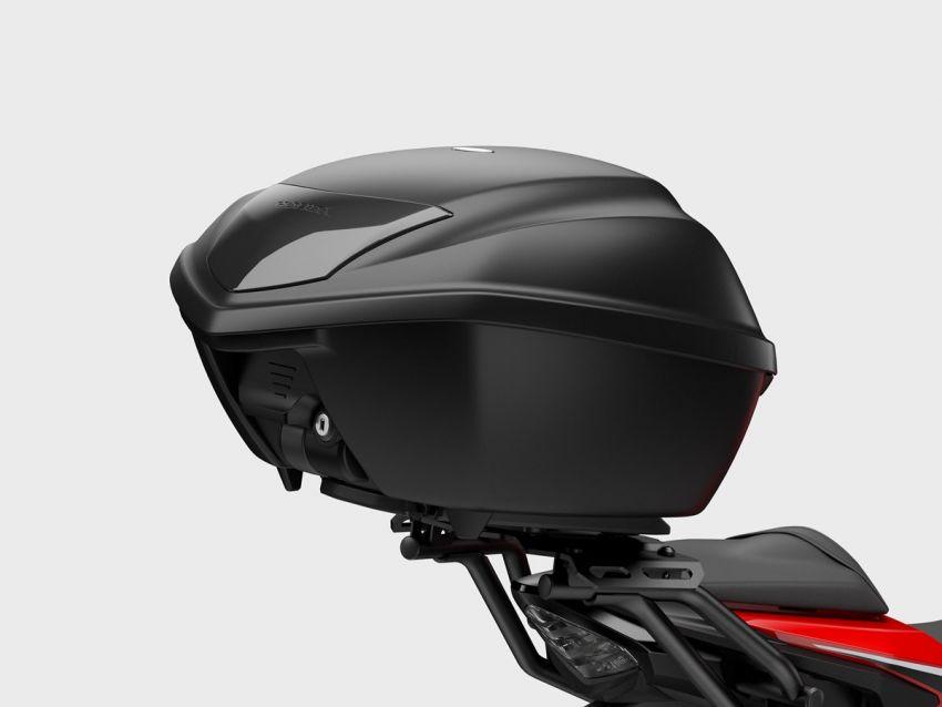 Honda CB500R, CB500F dan CB500X diperbaharui – enjin Euro 5, fork USD Showa, brek cakera berkembar Image #1340579