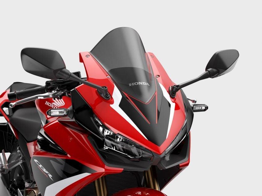 Honda CB500R, CB500F dan CB500X diperbaharui – enjin Euro 5, fork USD Showa, brek cakera berkembar Image #1340581
