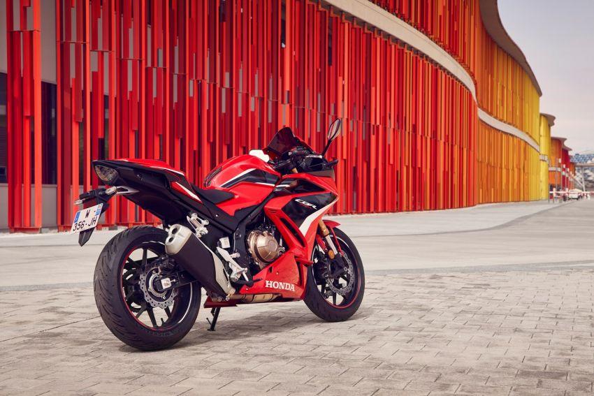 Honda CB500R, CB500F dan CB500X diperbaharui – enjin Euro 5, fork USD Showa, brek cakera berkembar Image #1340619