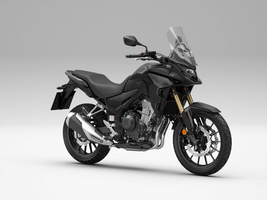 Honda CB500R, CB500F dan CB500X diperbaharui – enjin Euro 5, fork USD Showa, brek cakera berkembar Image #1340594