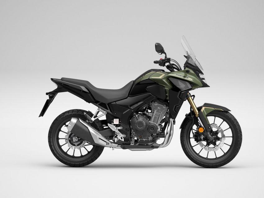 Honda CB500R, CB500F dan CB500X diperbaharui – enjin Euro 5, fork USD Showa, brek cakera berkembar Image #1340595