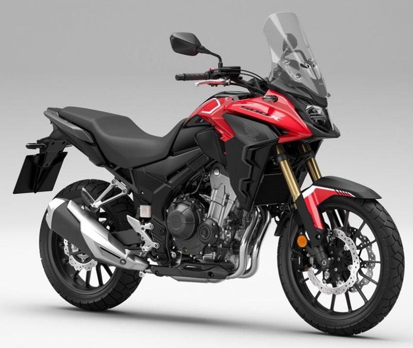 Honda CB500R, CB500F dan CB500X diperbaharui – enjin Euro 5, fork USD Showa, brek cakera berkembar Image #1340535
