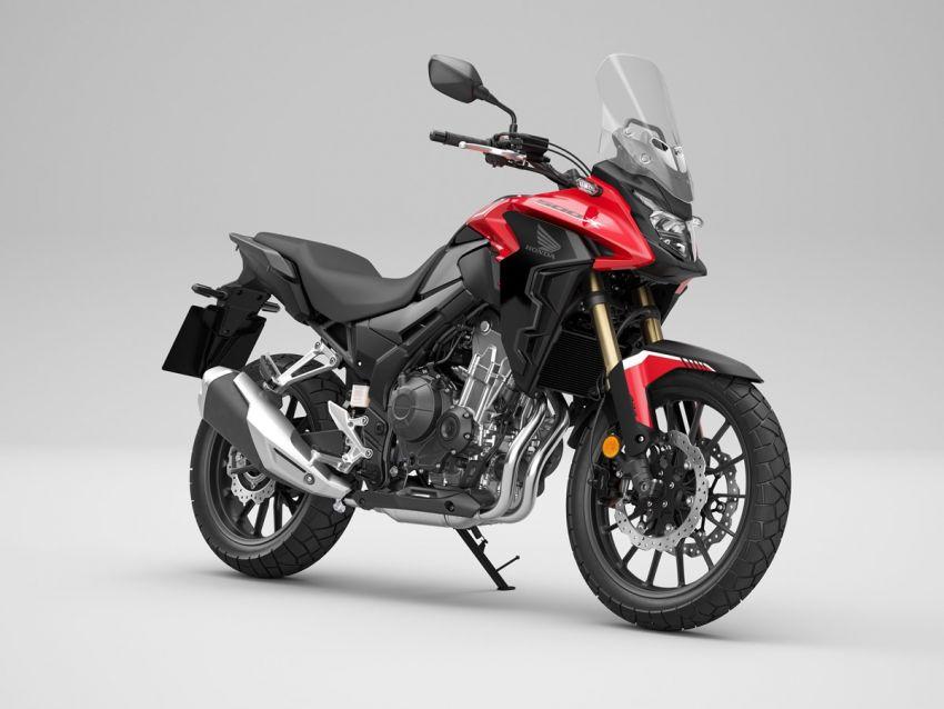 Honda CB500R, CB500F dan CB500X diperbaharui – enjin Euro 5, fork USD Showa, brek cakera berkembar Image #1340537