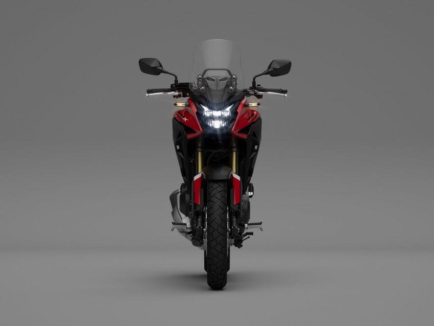 Honda CB500R, CB500F dan CB500X diperbaharui – enjin Euro 5, fork USD Showa, brek cakera berkembar Image #1340538