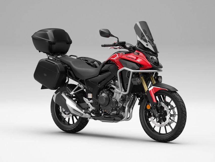 Honda CB500R, CB500F dan CB500X diperbaharui – enjin Euro 5, fork USD Showa, brek cakera berkembar Image #1340540
