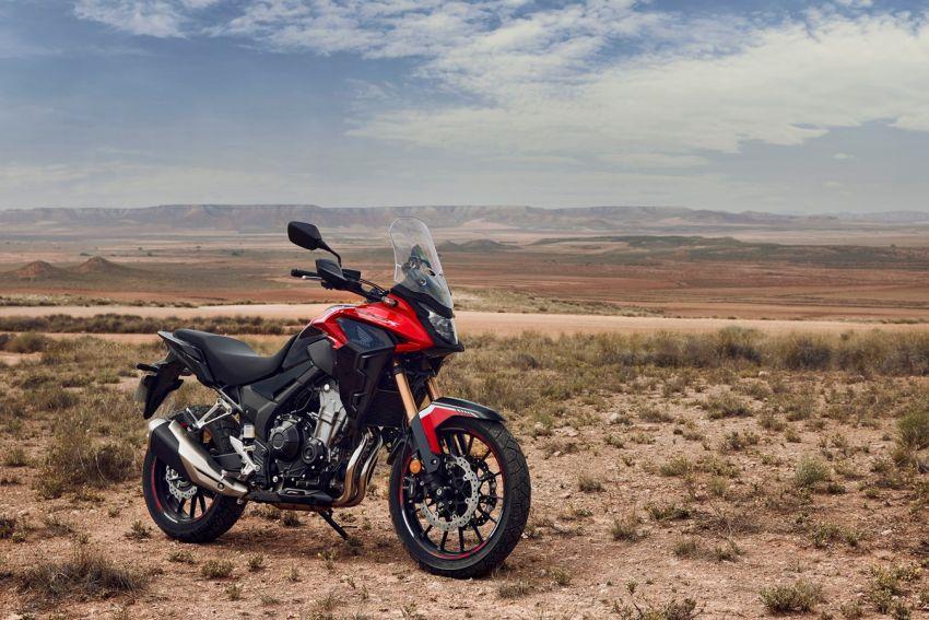 Honda CB500R, CB500F dan CB500X diperbaharui – enjin Euro 5, fork USD Showa, brek cakera berkembar Image #1340586