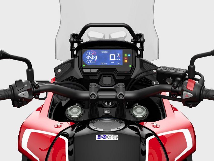 Honda CB500R, CB500F dan CB500X diperbaharui – enjin Euro 5, fork USD Showa, brek cakera berkembar Image #1340542