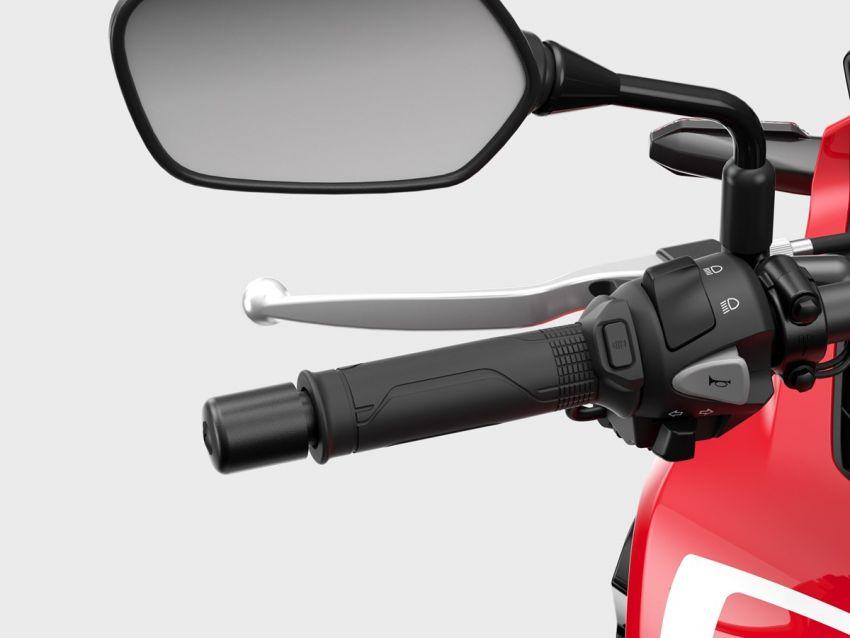 Honda CB500R, CB500F dan CB500X diperbaharui – enjin Euro 5, fork USD Showa, brek cakera berkembar Image #1340543