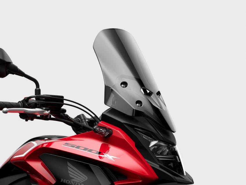 Honda CB500R, CB500F dan CB500X diperbaharui – enjin Euro 5, fork USD Showa, brek cakera berkembar Image #1340547