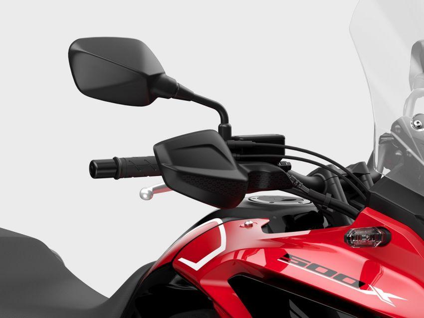 Honda CB500R, CB500F dan CB500X diperbaharui – enjin Euro 5, fork USD Showa, brek cakera berkembar Image #1340548
