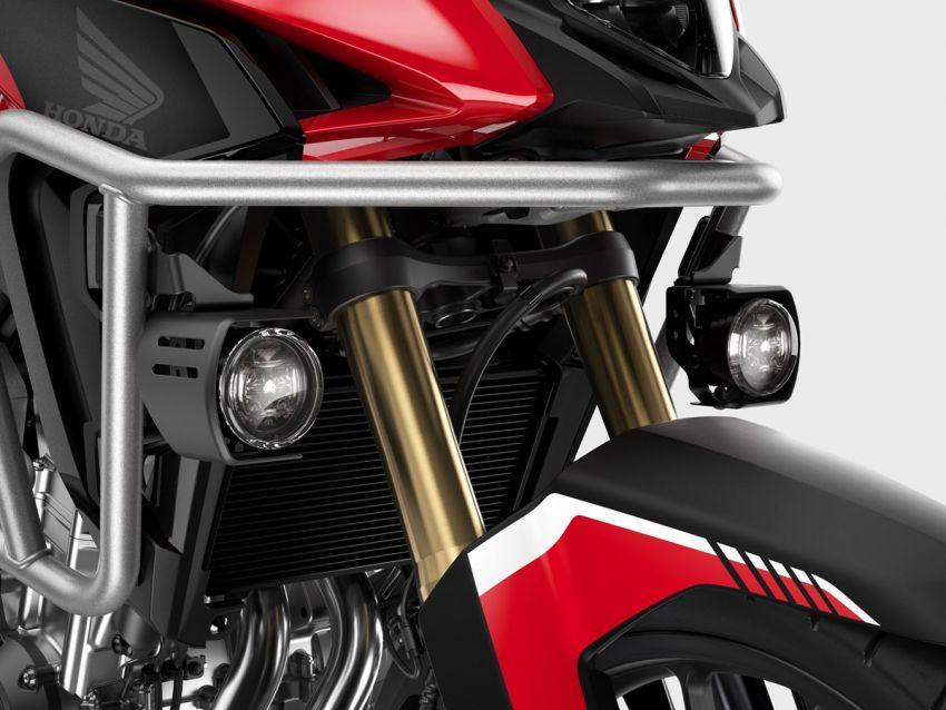 Honda CB500R, CB500F dan CB500X diperbaharui – enjin Euro 5, fork USD Showa, brek cakera berkembar Image #1340551