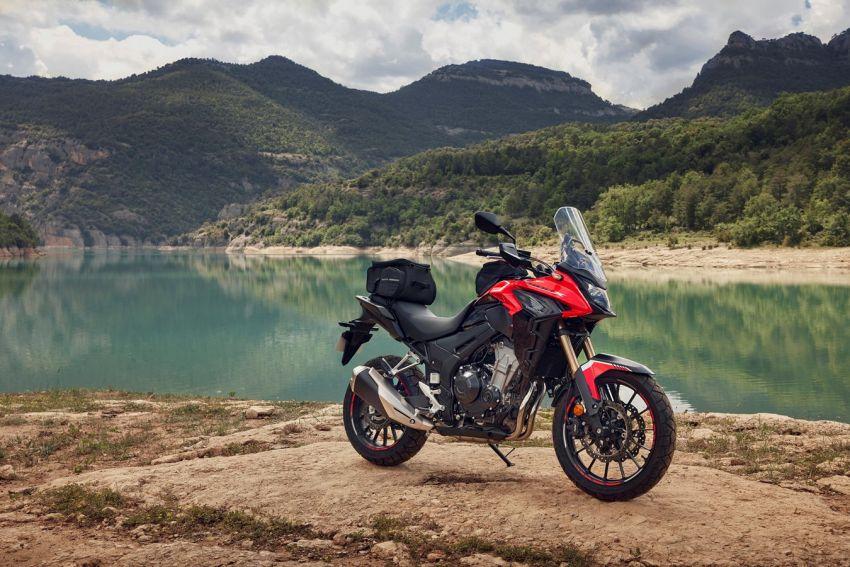 Honda CB500R, CB500F dan CB500X diperbaharui – enjin Euro 5, fork USD Showa, brek cakera berkembar Image #1340587