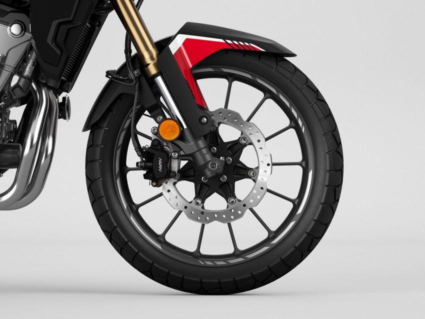 Honda CB500R, CB500F dan CB500X diperbaharui – enjin Euro 5, fork USD Showa, brek cakera berkembar Image #1340556