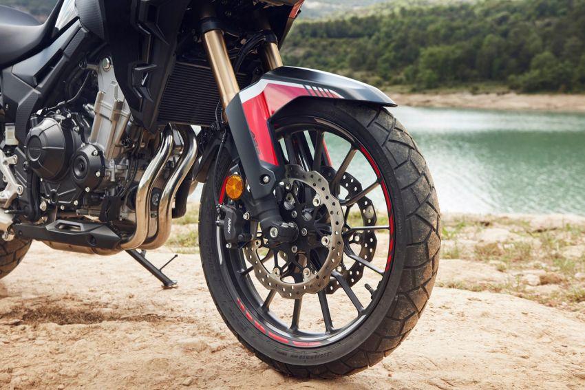 Honda CB500R, CB500F dan CB500X diperbaharui – enjin Euro 5, fork USD Showa, brek cakera berkembar Image #1340559