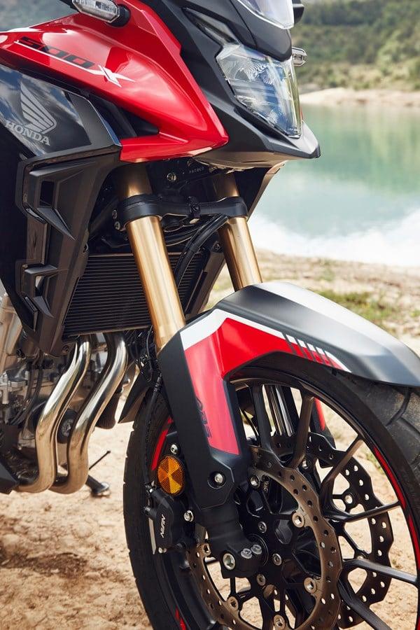 Honda CB500R, CB500F dan CB500X diperbaharui – enjin Euro 5, fork USD Showa, brek cakera berkembar Image #1340560