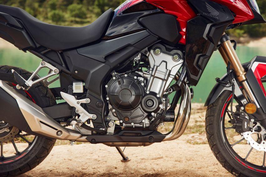 Honda CB500R, CB500F dan CB500X diperbaharui – enjin Euro 5, fork USD Showa, brek cakera berkembar Image #1340562