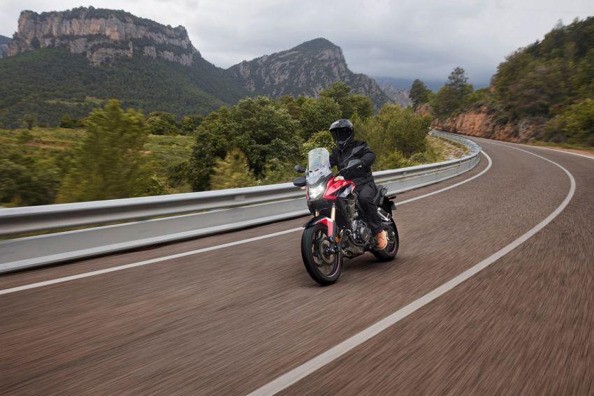 Honda CB500R, CB500F dan CB500X diperbaharui – enjin Euro 5, fork USD Showa, brek cakera berkembar Image #1340564