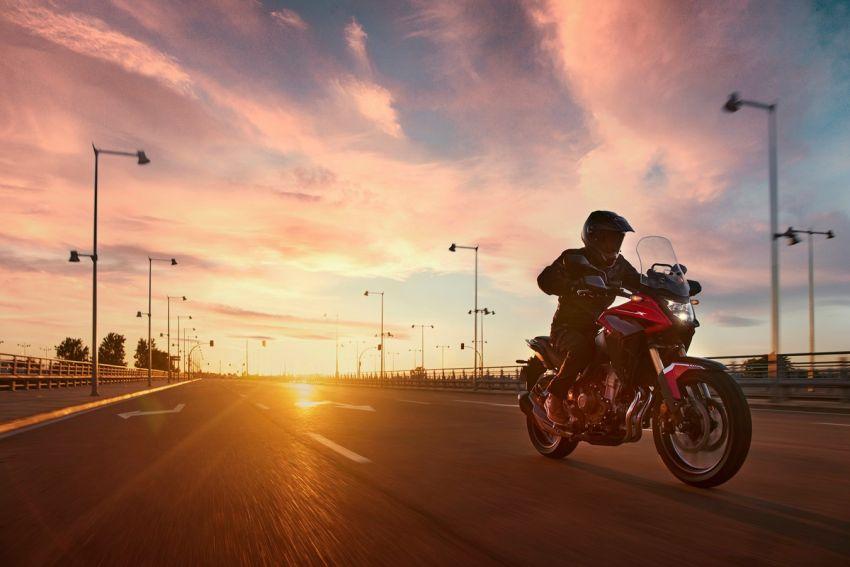 Honda CB500R, CB500F dan CB500X diperbaharui – enjin Euro 5, fork USD Showa, brek cakera berkembar Image #1340565