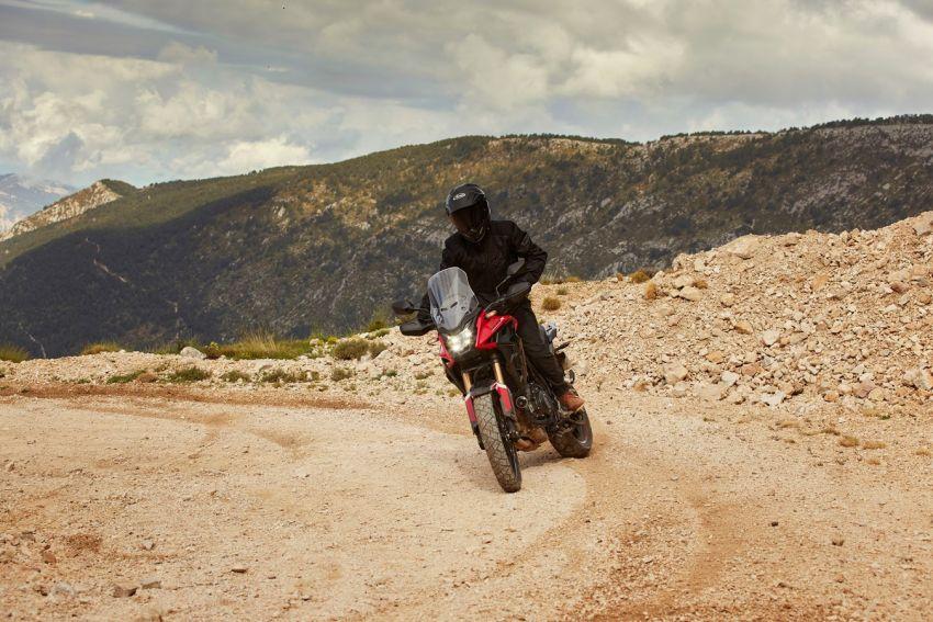 Honda CB500R, CB500F dan CB500X diperbaharui – enjin Euro 5, fork USD Showa, brek cakera berkembar Image #1340568