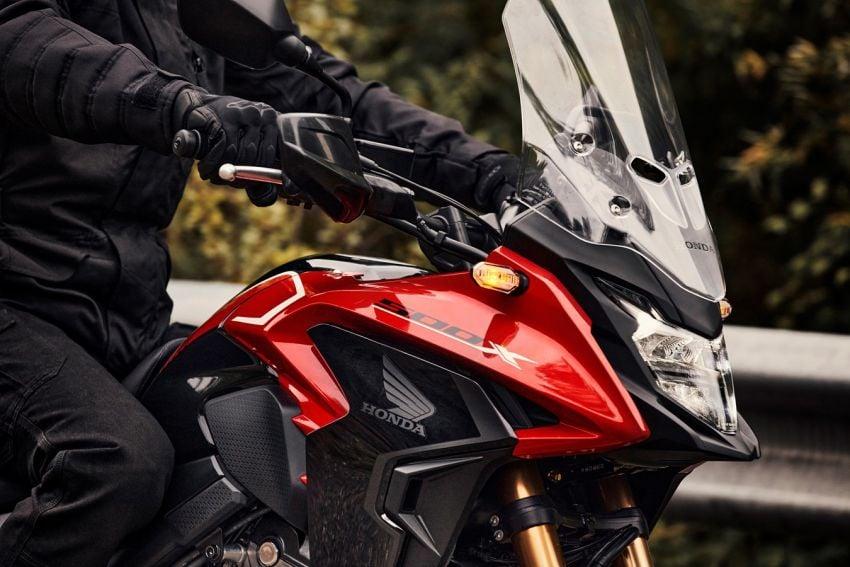 Honda CB500R, CB500F dan CB500X diperbaharui – enjin Euro 5, fork USD Showa, brek cakera berkembar Image #1340570