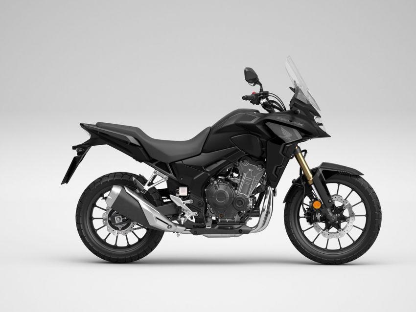 Honda CB500R, CB500F dan CB500X diperbaharui – enjin Euro 5, fork USD Showa, brek cakera berkembar Image #1340593