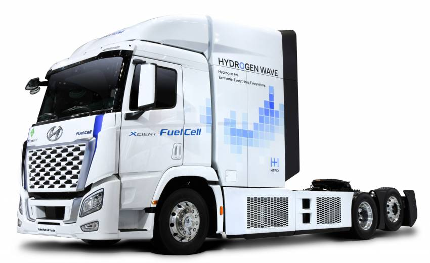 Hyundai Motor Group presents vision to popularise hydrogen by 2040 – Vision FK, Trailer Drone concepts Image #1345817