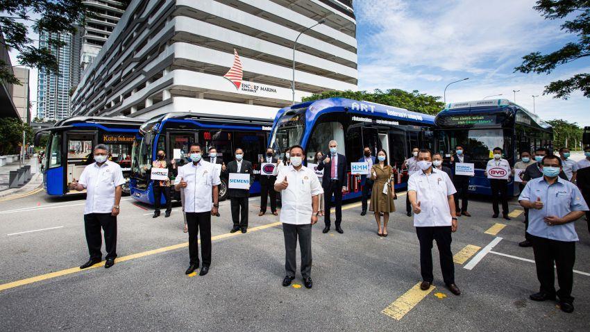 Tram autonomous dengan kapasiti 307 penumpang akan mula fasa percubaan di Cyberjaya Januari 2022 Image #1341748