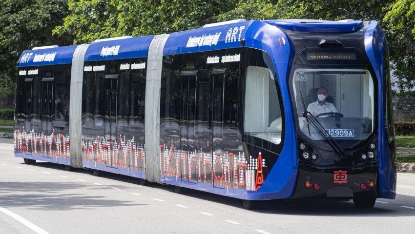 Tram autonomous dengan kapasiti 307 penumpang akan mula fasa percubaan di Cyberjaya Januari 2022 Image #1341746