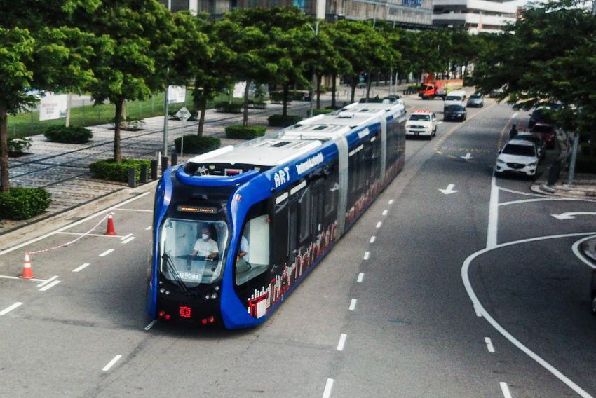 Tram autonomous dengan kapasiti 307 penumpang akan mula fasa percubaan di Cyberjaya Januari 2022 Image #1341747