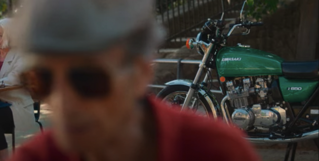 Another teaser video for Kawasaki's new retro bike