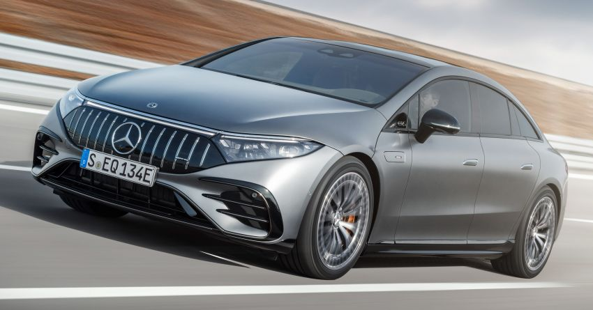 Mercedes-AMG EQS53 4Matic+ revealed – brand's first performance EV receives up to 761 PS and 1,020 Nm Image #1341496