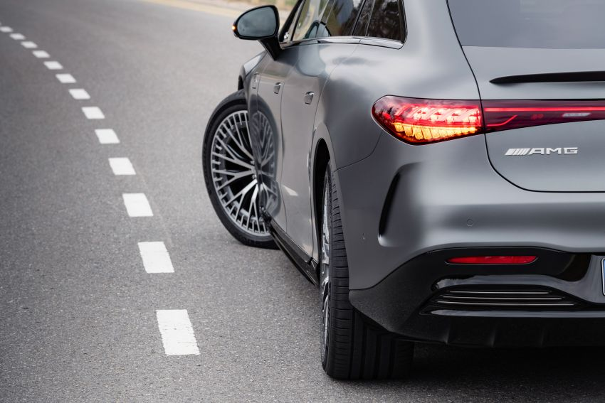 Mercedes-AMG EQS53 4Matic+ revealed – brand's first performance EV receives up to 761 PS and 1,020 Nm Image #1341506