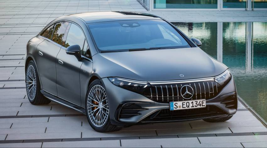 Mercedes-AMG EQS53 4Matic+ revealed – brand's first performance EV receives up to 761 PS and 1,020 Nm Image #1341507