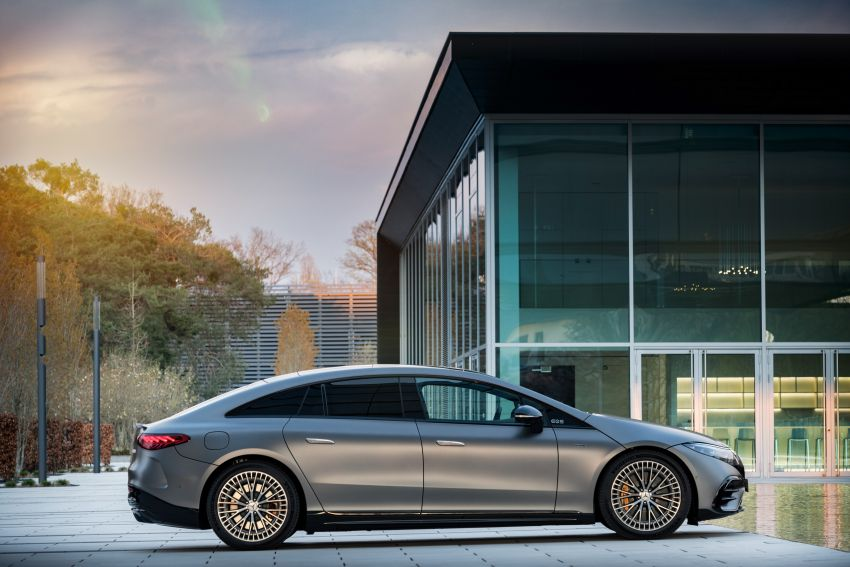 Mercedes-AMG EQS53 4Matic+ revealed – brand's first performance EV receives up to 761 PS and 1,020 Nm Image #1341508