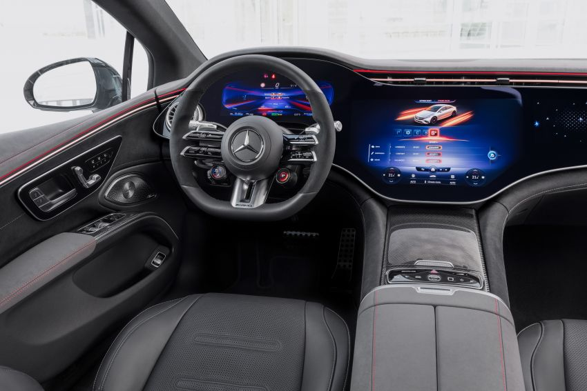 Mercedes-AMG EQS53 4Matic+ revealed – brand's first performance EV receives up to 761 PS and 1,020 Nm Image #1341511