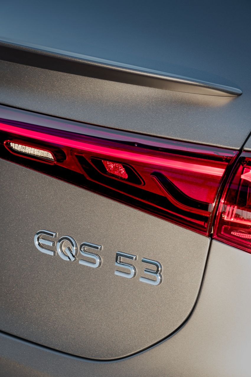Mercedes-AMG EQS53 4Matic+ revealed – brand's first performance EV receives up to 761 PS and 1,020 Nm Image #1341512