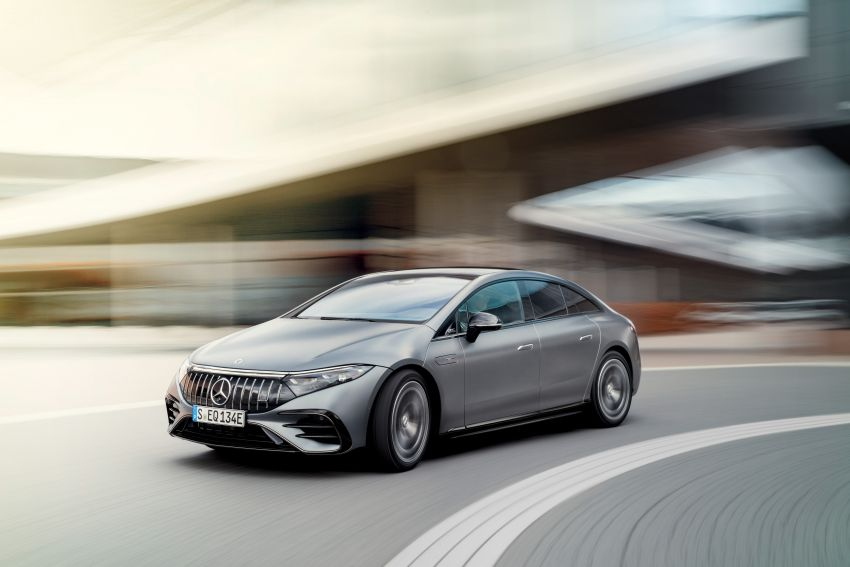 Mercedes-AMG EQS53 4Matic+ revealed – brand's first performance EV receives up to 761 PS and 1,020 Nm Image #1341514
