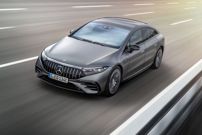 Mercedes-AMG EQS53 4Matic+ revealed – brand's first performance EV receives up to 761 PS and 1,020 Nm Image #1341497