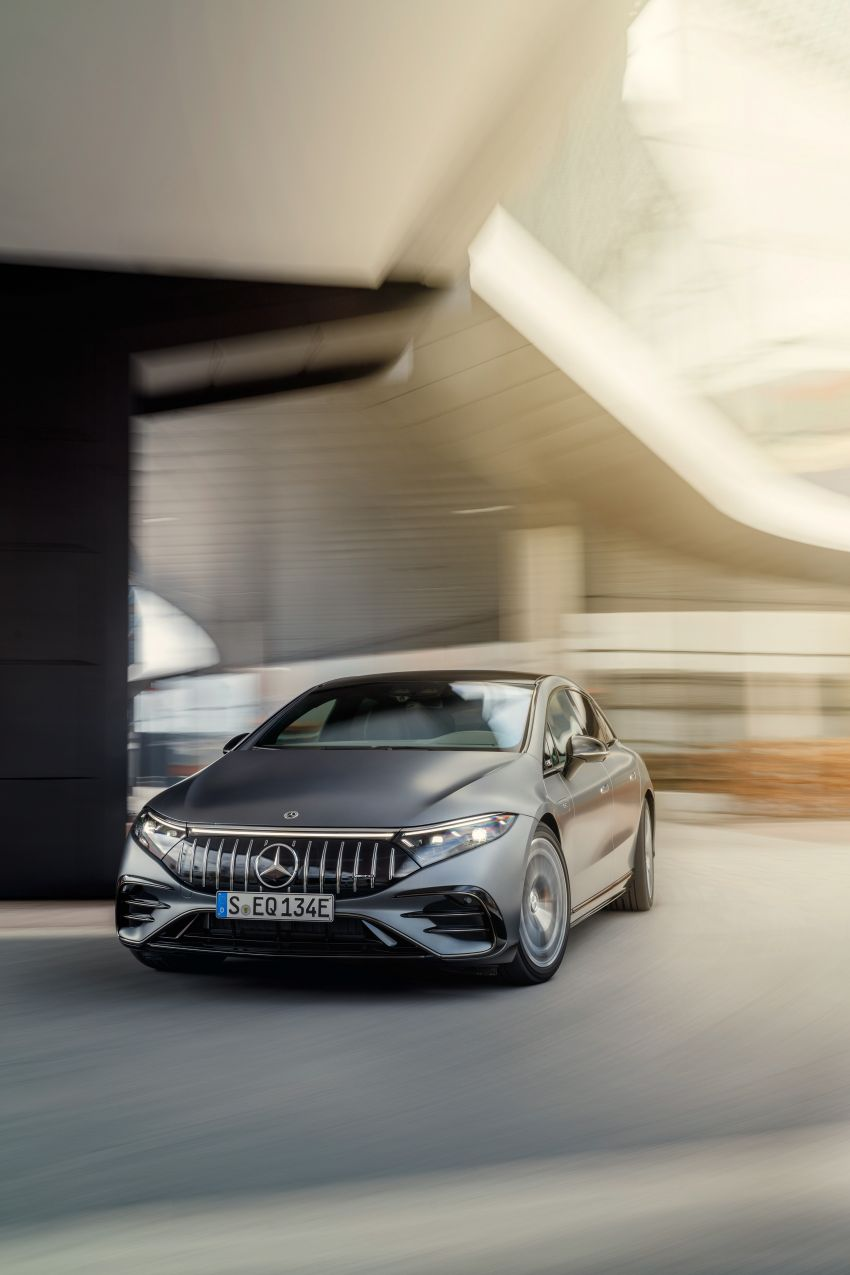 Mercedes-AMG EQS53 4Matic+ revealed – brand's first performance EV receives up to 761 PS and 1,020 Nm Image #1341516