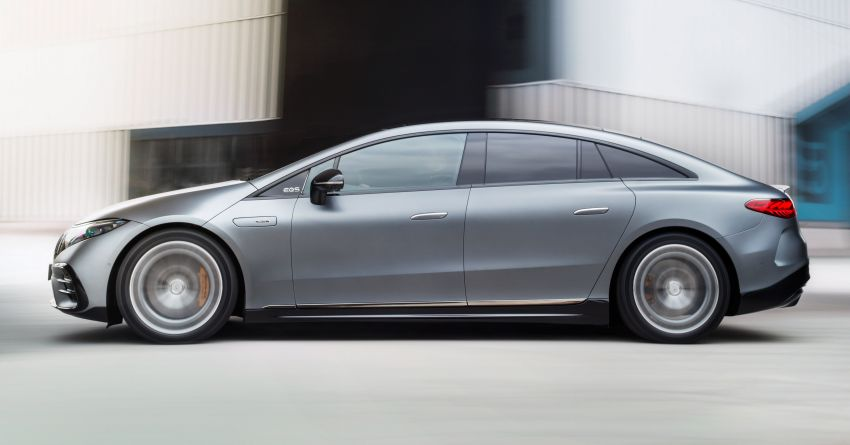 Mercedes-AMG EQS53 4Matic+ revealed – brand's first performance EV receives up to 761 PS and 1,020 Nm Image #1341517