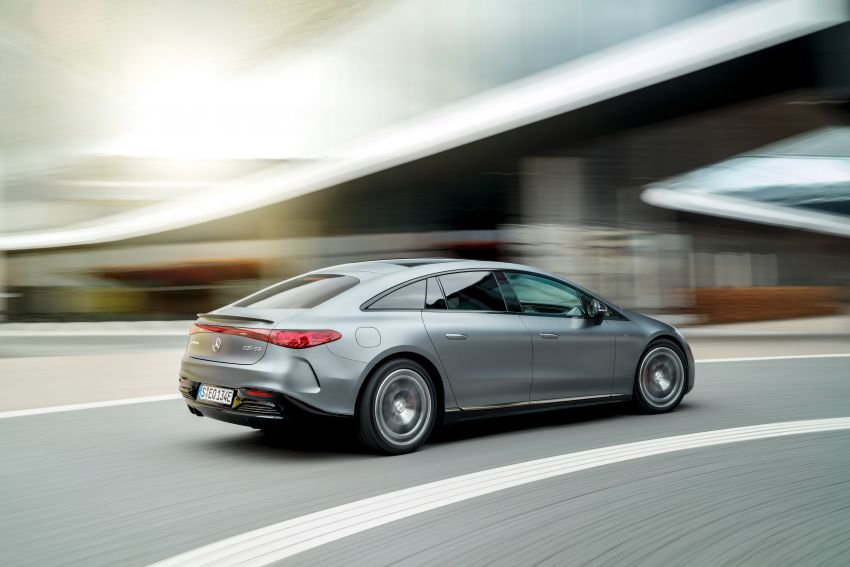 Mercedes-AMG EQS53 4Matic+ revealed – brand's first performance EV receives up to 761 PS and 1,020 Nm Image #1341518