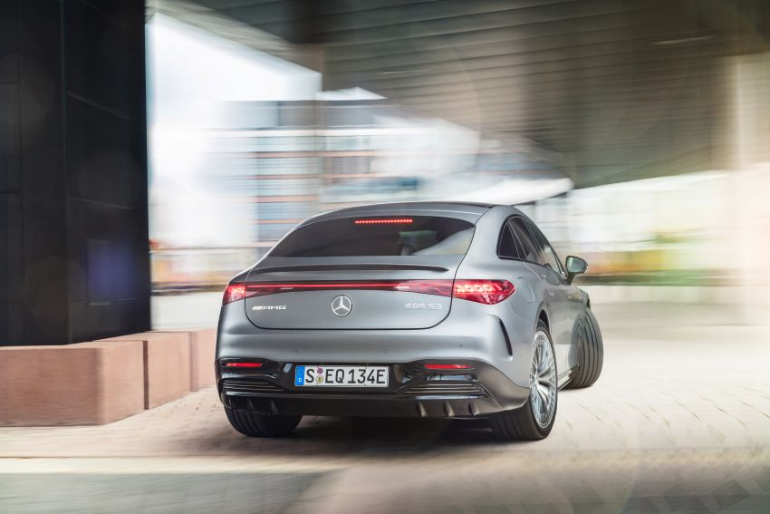 Mercedes-AMG EQS53 4Matic+ revealed – brand's first performance EV receives up to 761 PS and 1,020 Nm Image #1341519