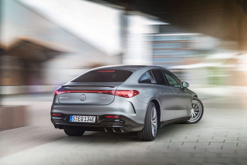 Mercedes-AMG EQS53 4Matic+ revealed – brand's first performance EV receives up to 761 PS and 1,020 Nm Image #1341520