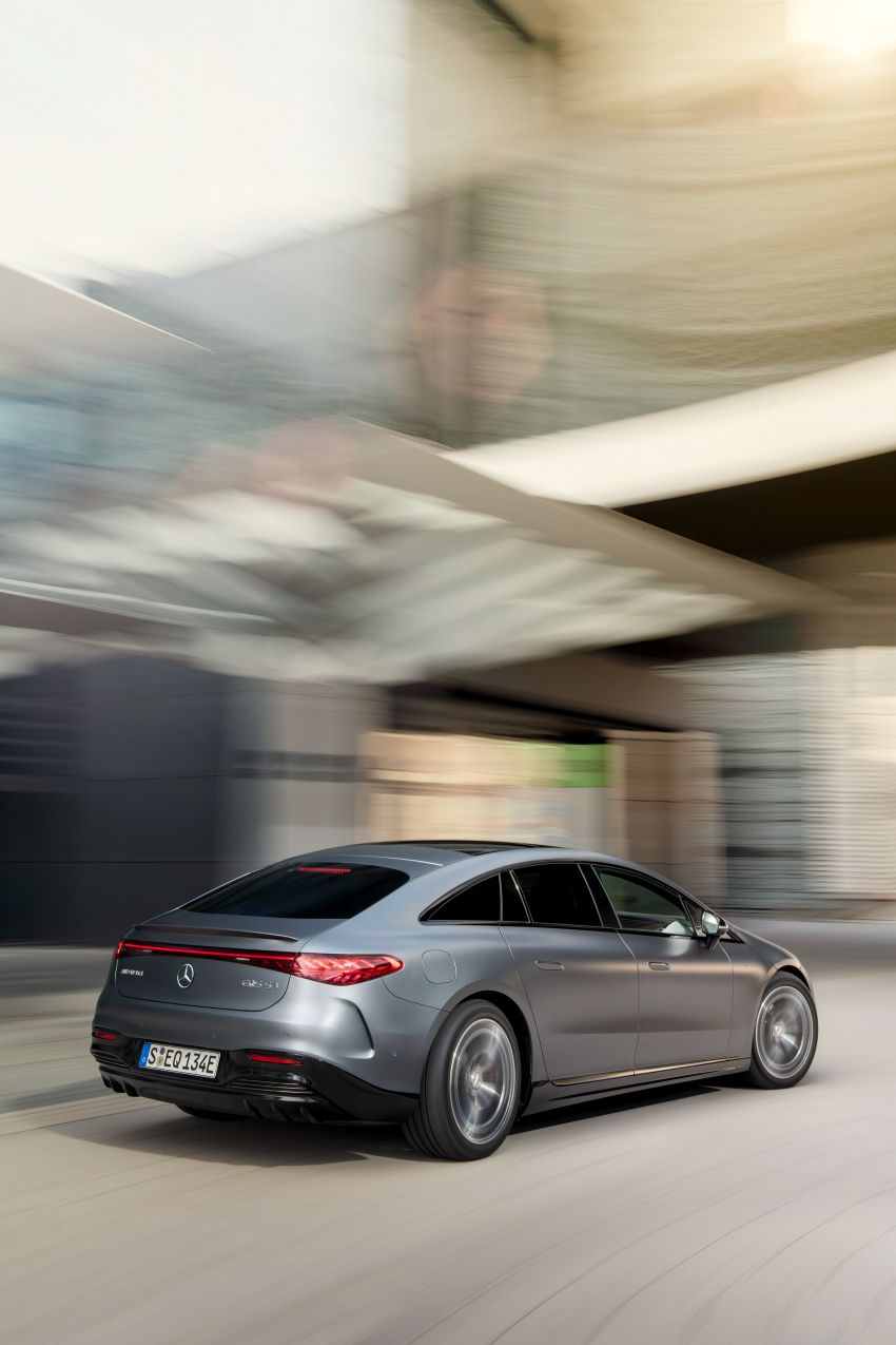 Mercedes-AMG EQS53 4Matic+ revealed – brand's first performance EV receives up to 761 PS and 1,020 Nm Image #1341521