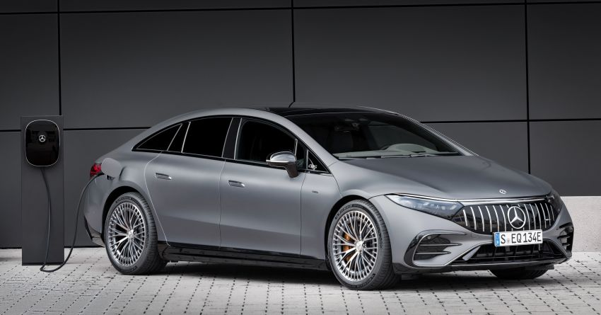 Mercedes-AMG EQS53 4Matic+ revealed – brand's first performance EV receives up to 761 PS and 1,020 Nm Image #1341523
