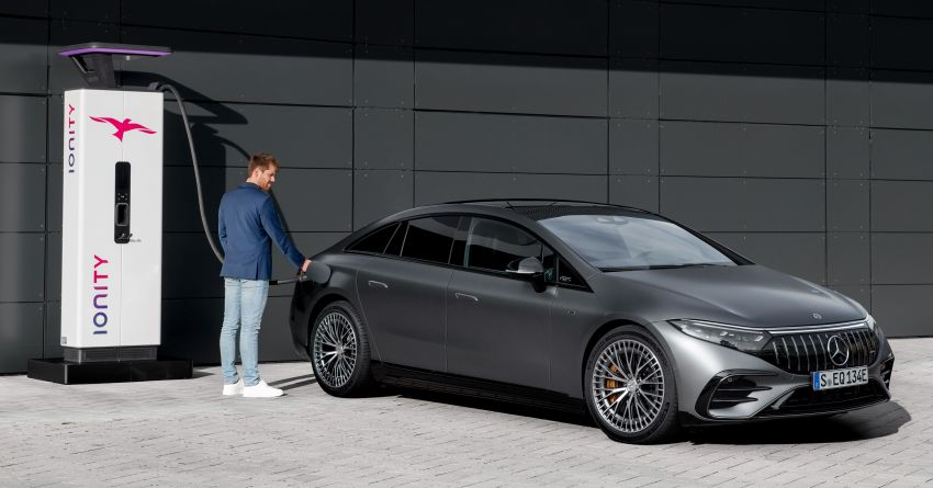 Mercedes-AMG EQS53 4Matic+ revealed – brand's first performance EV receives up to 761 PS and 1,020 Nm Image #1341524